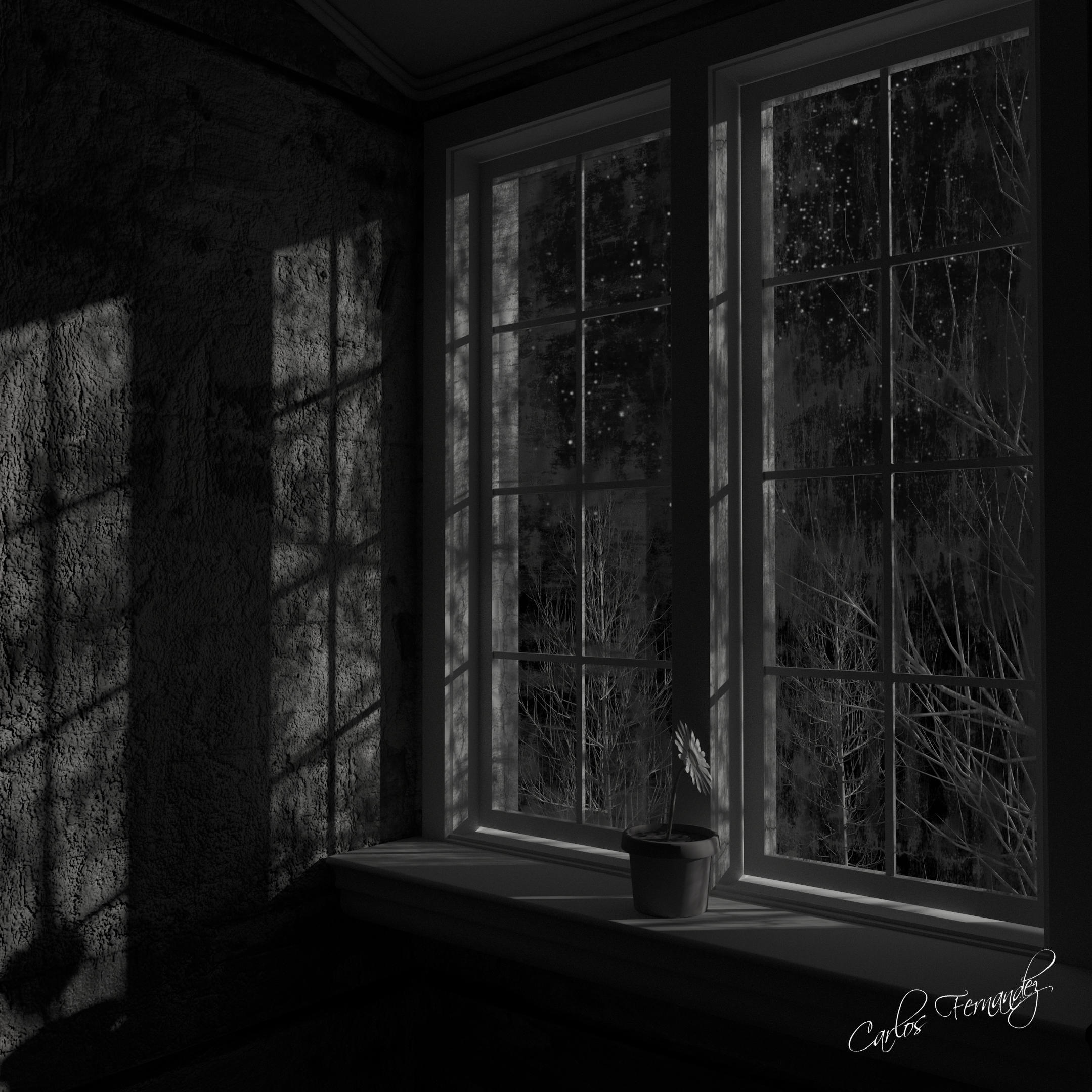 Another Sad Night In The Window Finished Projects Blender Artists Community