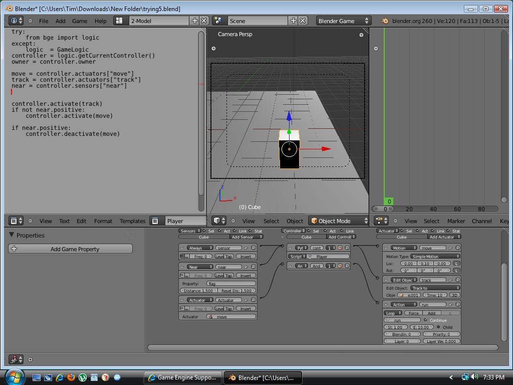 RTS Flag Script and animation - Game Engine Support and