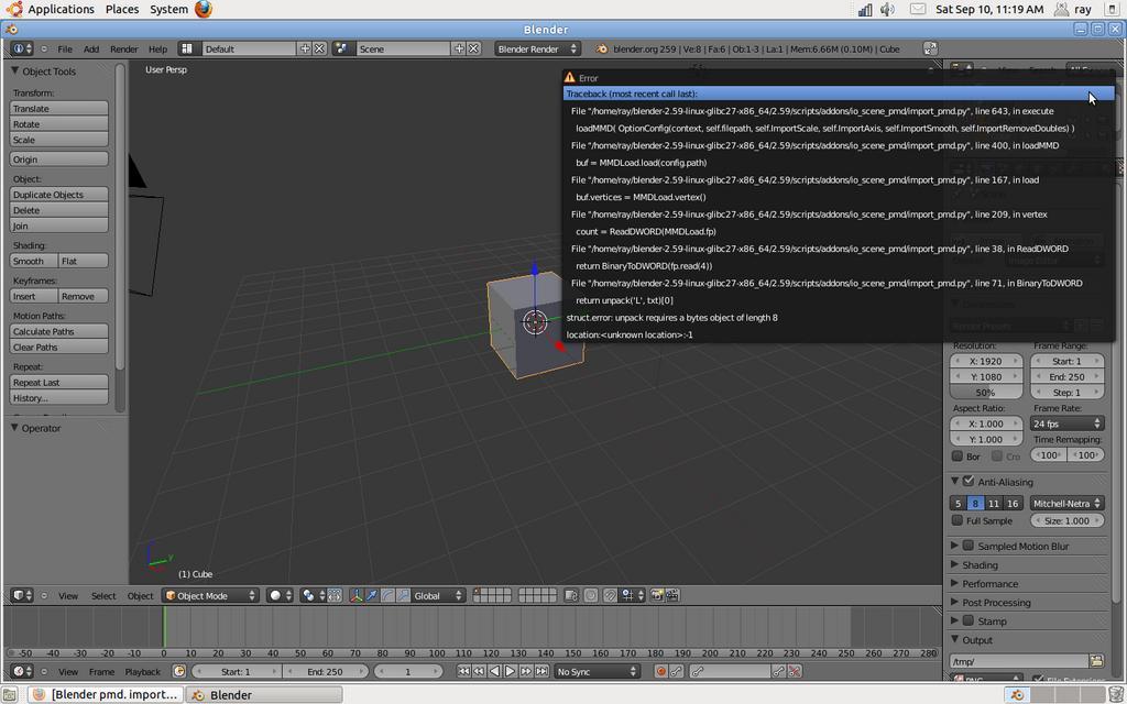 Blender pmd  importer? - Python Support - Blender Artists Community