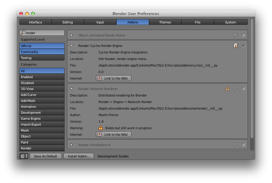 blender 2.63 mac