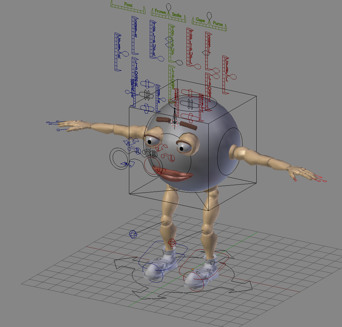 Character is split into separate parts, any problems for rigging and