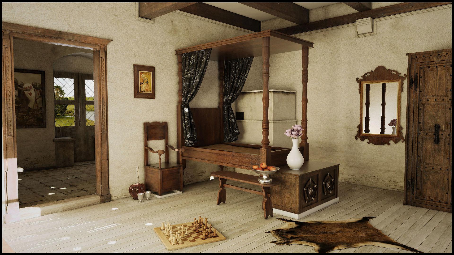 Superbe Medieval Bedroom