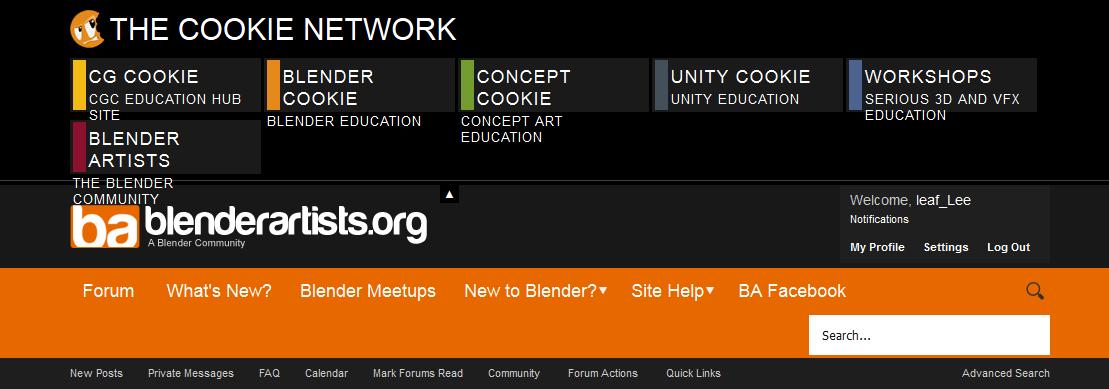 Small forum glitch (firefox user) - Blender Artists Website Support
