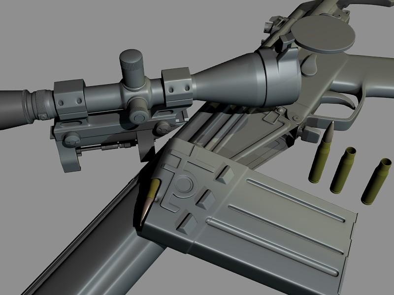 HK G3 rifle in progress - Works in Progress - Blender Artists Community