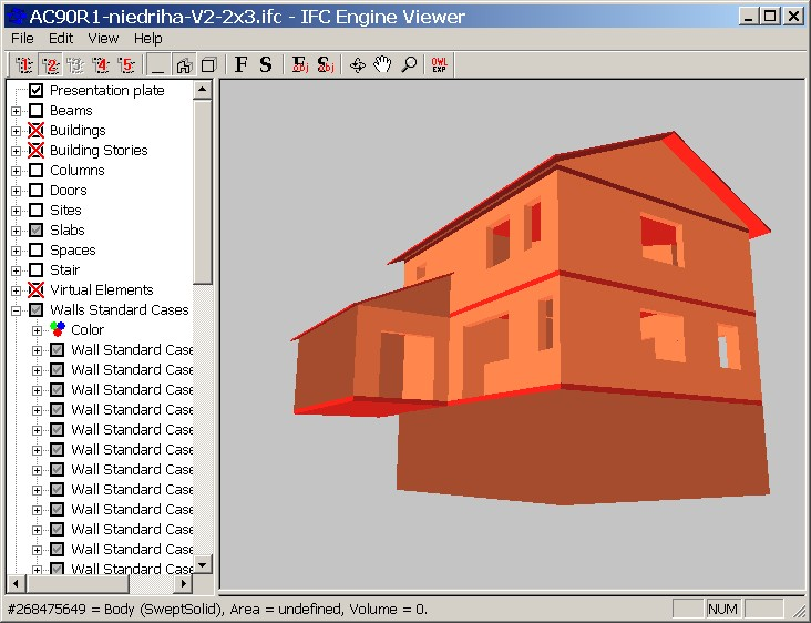 IFC-importer (BIM from ArchiCAD, Revit, Allplan   ) - pre