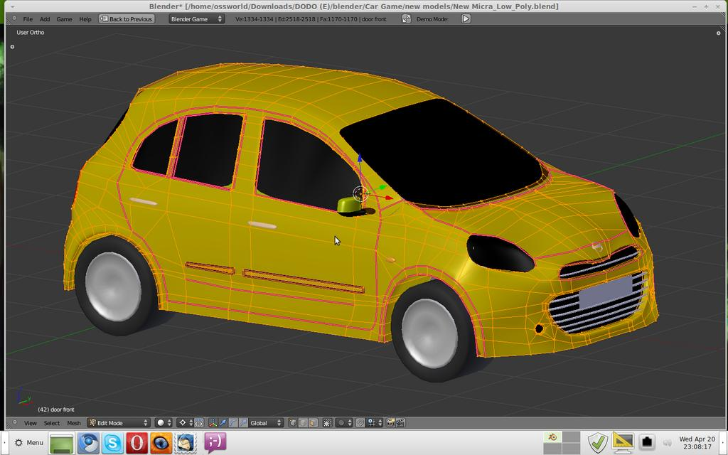 NISSAN MICRA 2011 racing challenge game - Team Projects - Blender