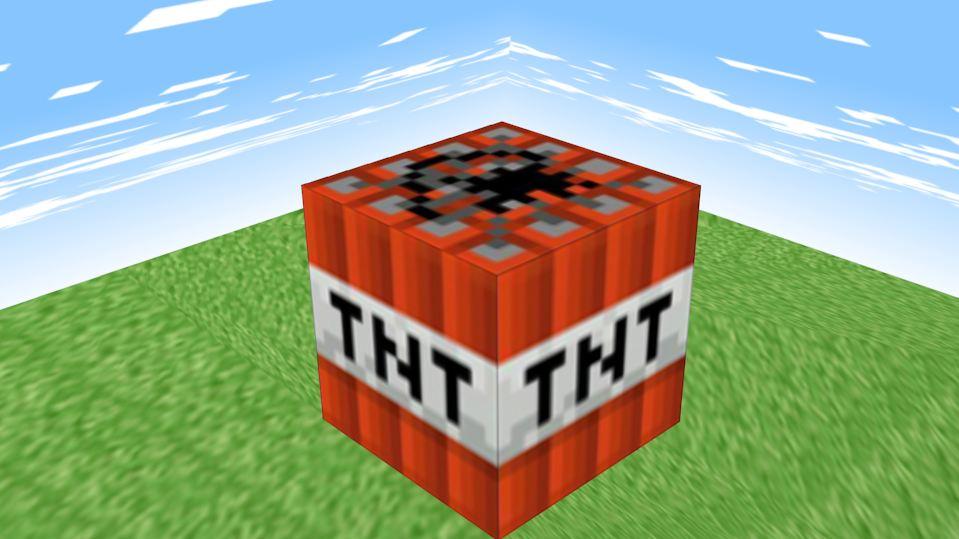 minecraft tnt block works in progress blender artists community