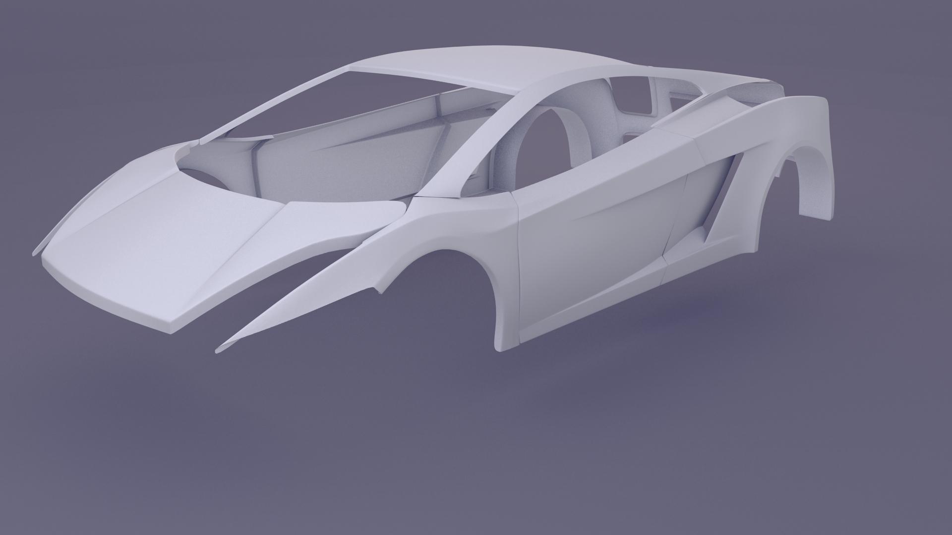 Lamborghini Gallardo Superleggera - Works in Progress ... on