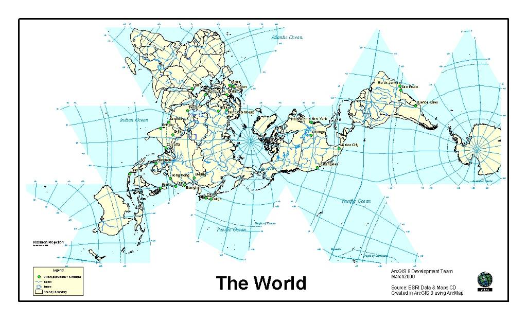 I really want a dymaxian buckminster fuller world map poster fuller dymaxion world map eis smallg1024x622 102 kb gumiabroncs Images