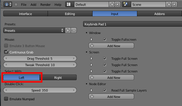 How to select an object on Mac - Basics & Interface - Blender