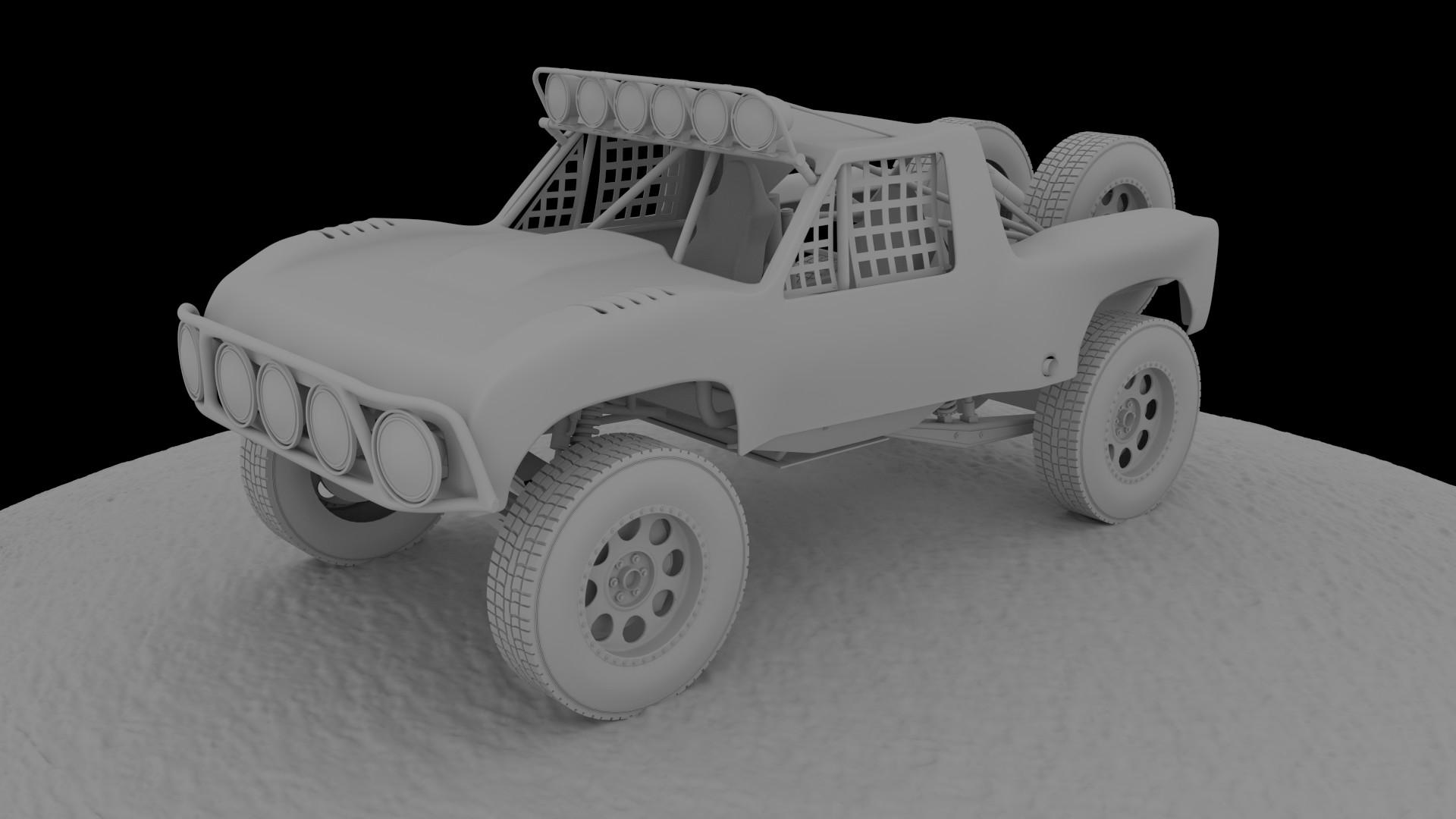 Trophy Truck WIP - Works in Progress - Blender Artists Community