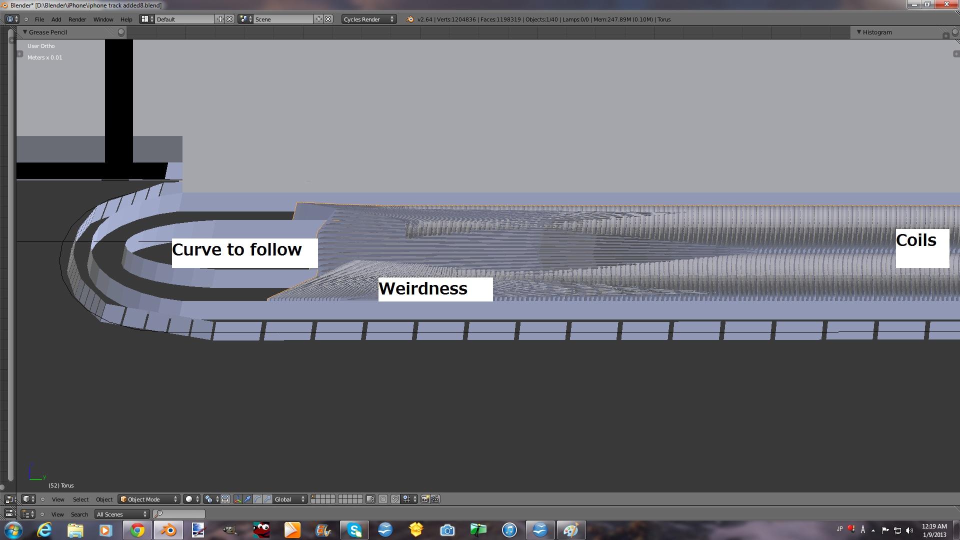Bezier curve weirdness - Modeling - Blender Artists Community