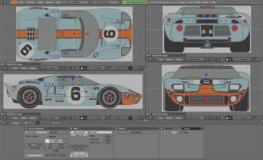 Ford gt40 wip works in progress blender artists community 1g1024x622 92 kb malvernweather Images