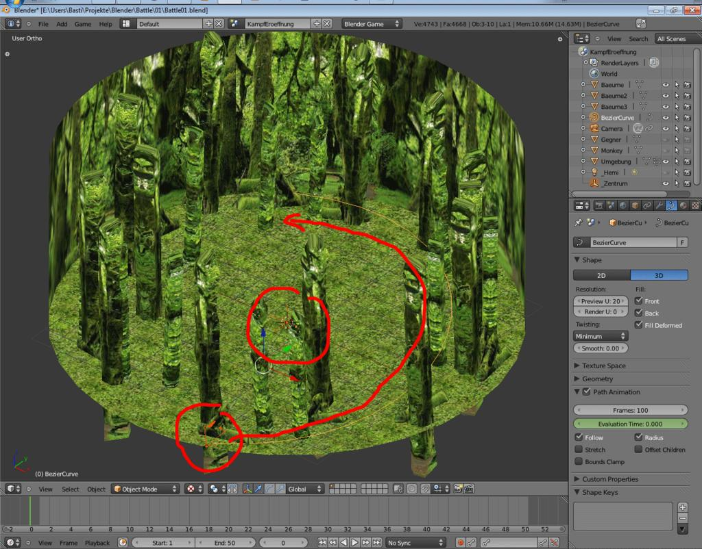 Game Camera Curve Problem - Game Engine Support and Discussion