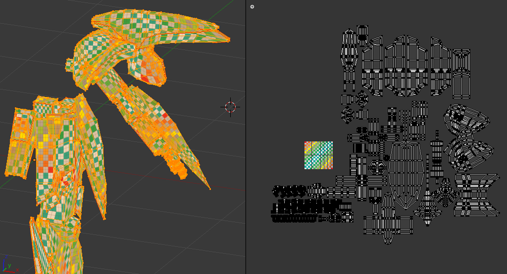 darkmag07's WIPs (Unity Game Models) - Works in Progress - Blender