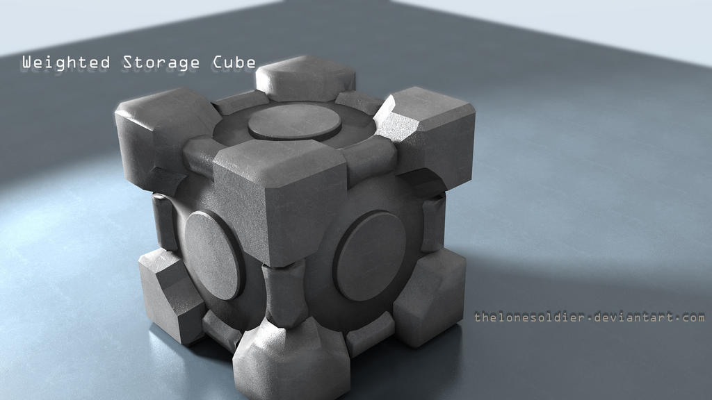 Attachments & Weighted Storage Cube - Finished Projects - Blender Artists Community