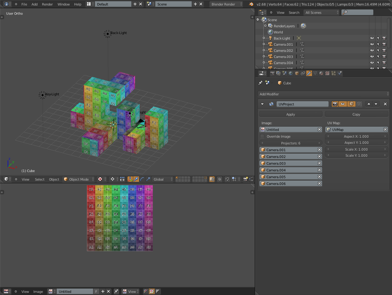 Solved]Automatic UV Mapping while Editing mesh - Modeling - Blender