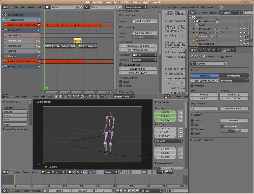 BVH workflow  - Animation and Rigging - Blender Artists