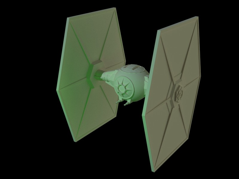 How to make Origami Tie FIGHTER - Origami Star Wars Tutorial - YouTube | 600x800