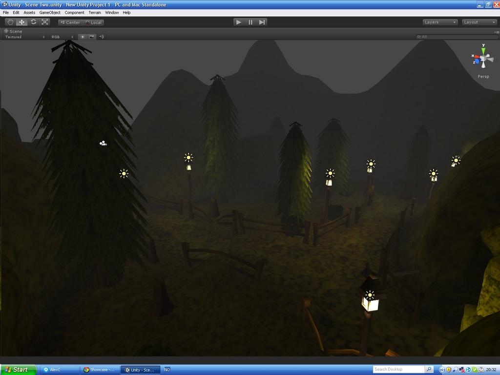 Stylized RPG WIP: New Scene - Works in Progress and Game
