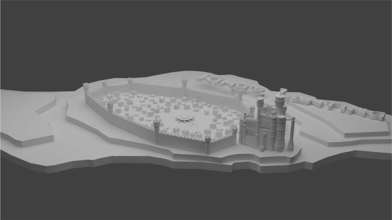 King's Landing from Game of Thrones - Finished Projects