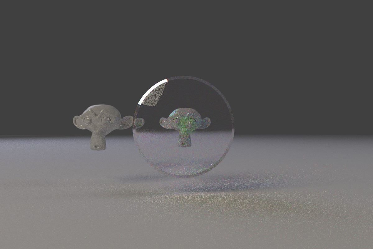How can you get a magnifying glass effect with cycles
