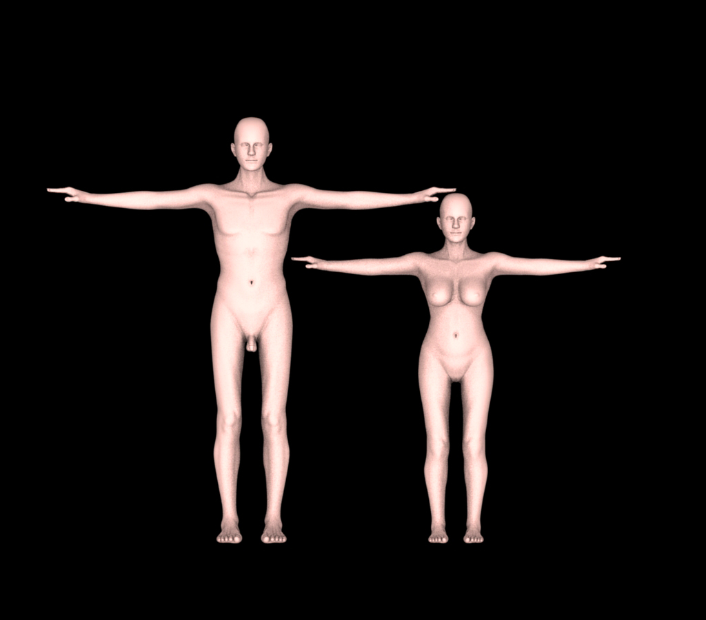 With some talk about nudity create human skin
