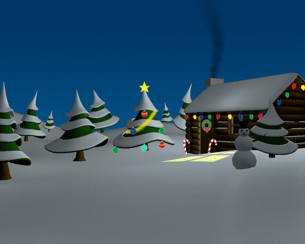 A Merry Christmas Animated Greeting Card For The Holidays Finished