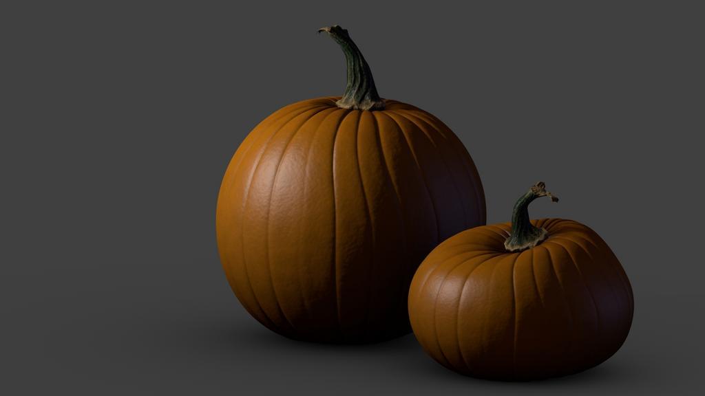 Simple pumpkin - Blender Tests - Blender Artists Community