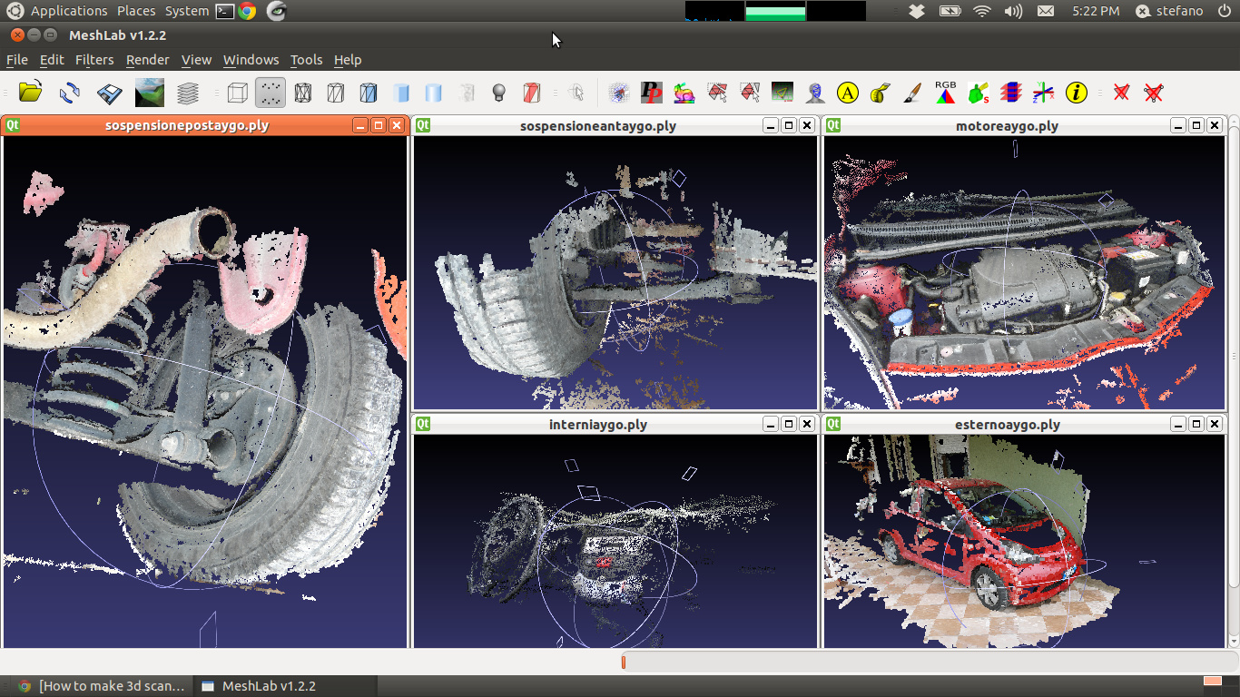 How to make 3d scan with pictures and the Python