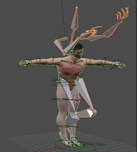 Makehuman rig problem with mocap file - Animation and