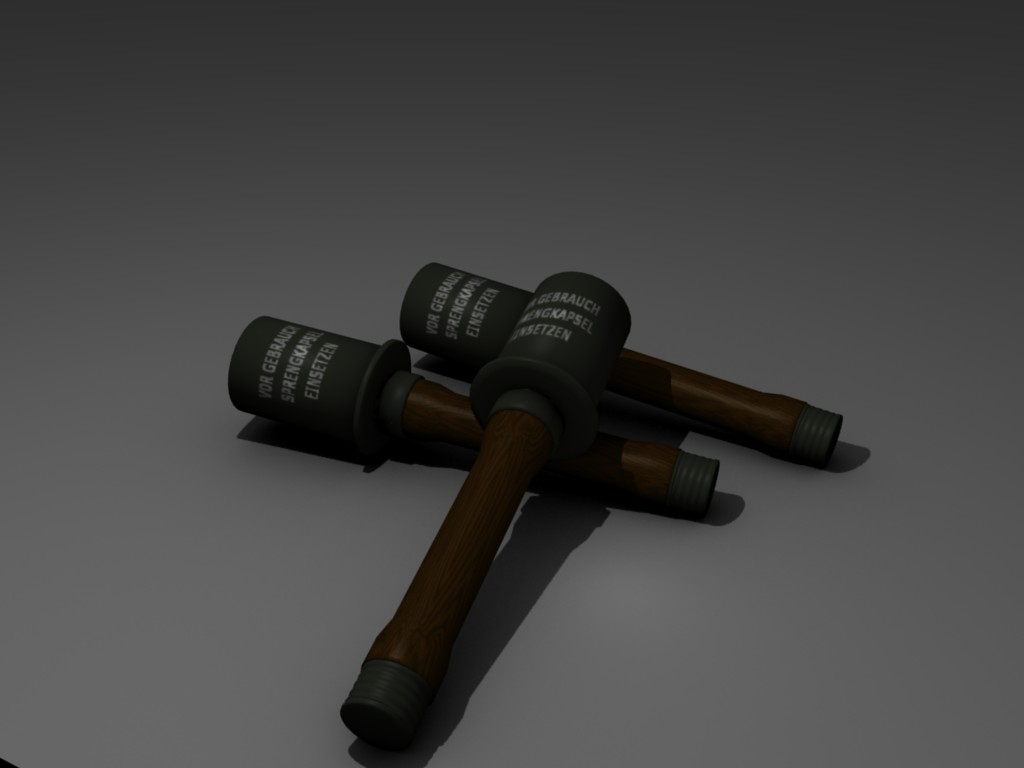 German Stick Grenade Stielgranate 24: WWII Type - Focused Critiques