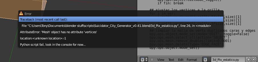 3d pixelated script - Blender Tests - Blender Artists Community