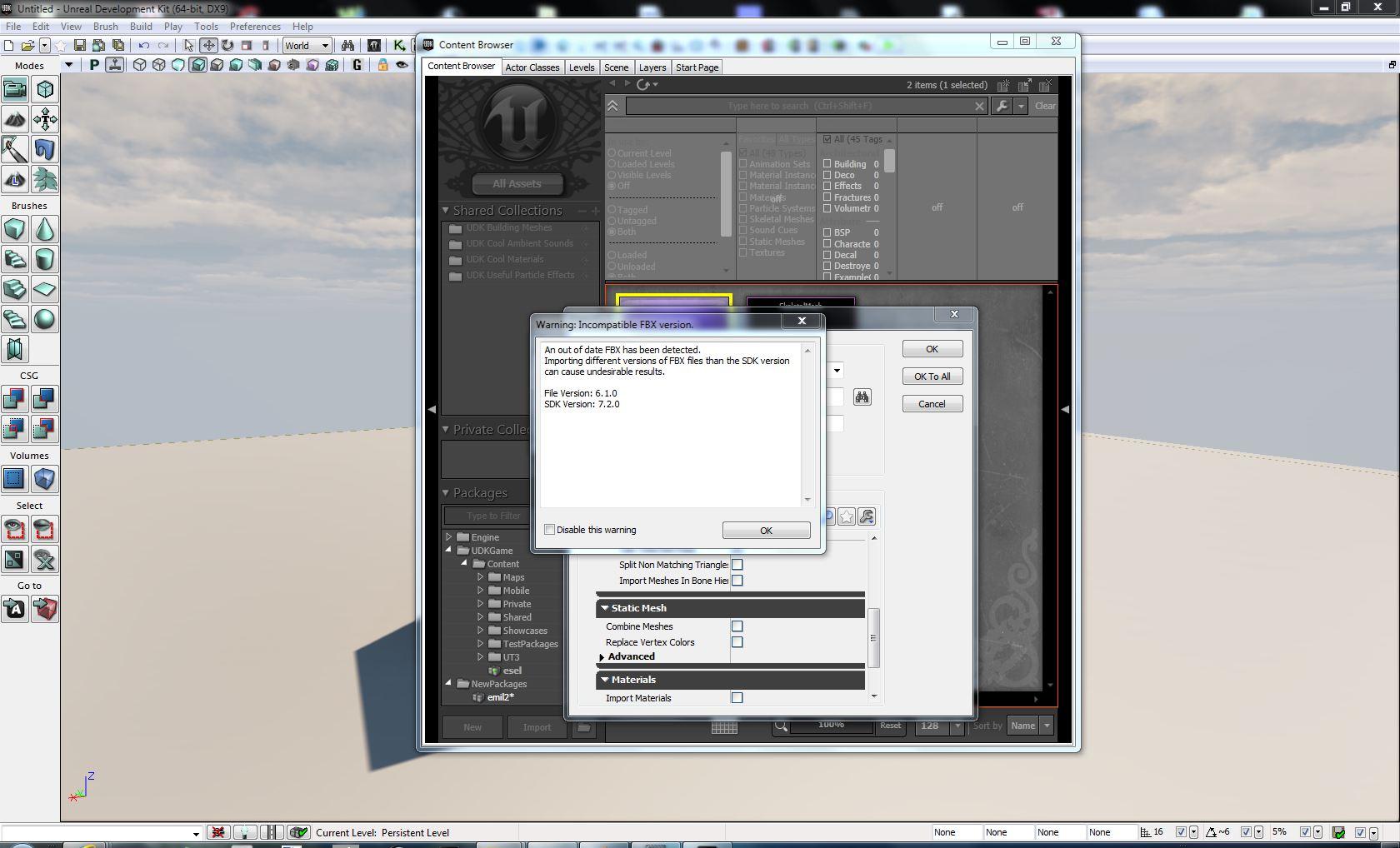 Blender to UDK using FBX error - Technical Support - Blender Artists