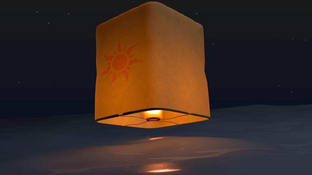 Tangled The Floating Lanterns Works In Progress Blender Artists Community