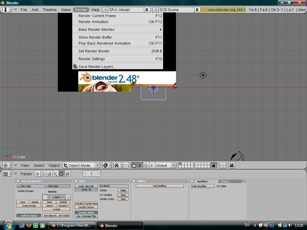 Vista kills Blender? - Basics & Interface - Blender Artists