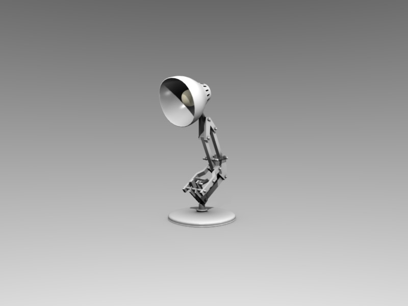 pixar lamp rigged and ready finished projects blender artists