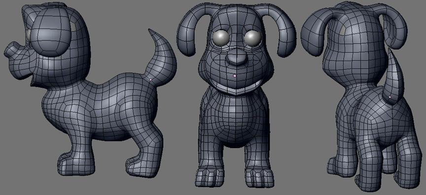 Puppy Model Works In Progress Blender Artists Community