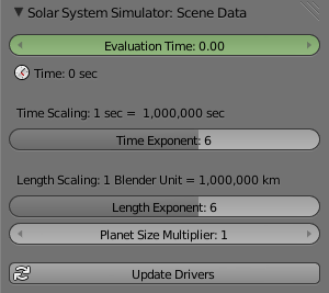 Solar System Simulator - Released Scripts and Themes