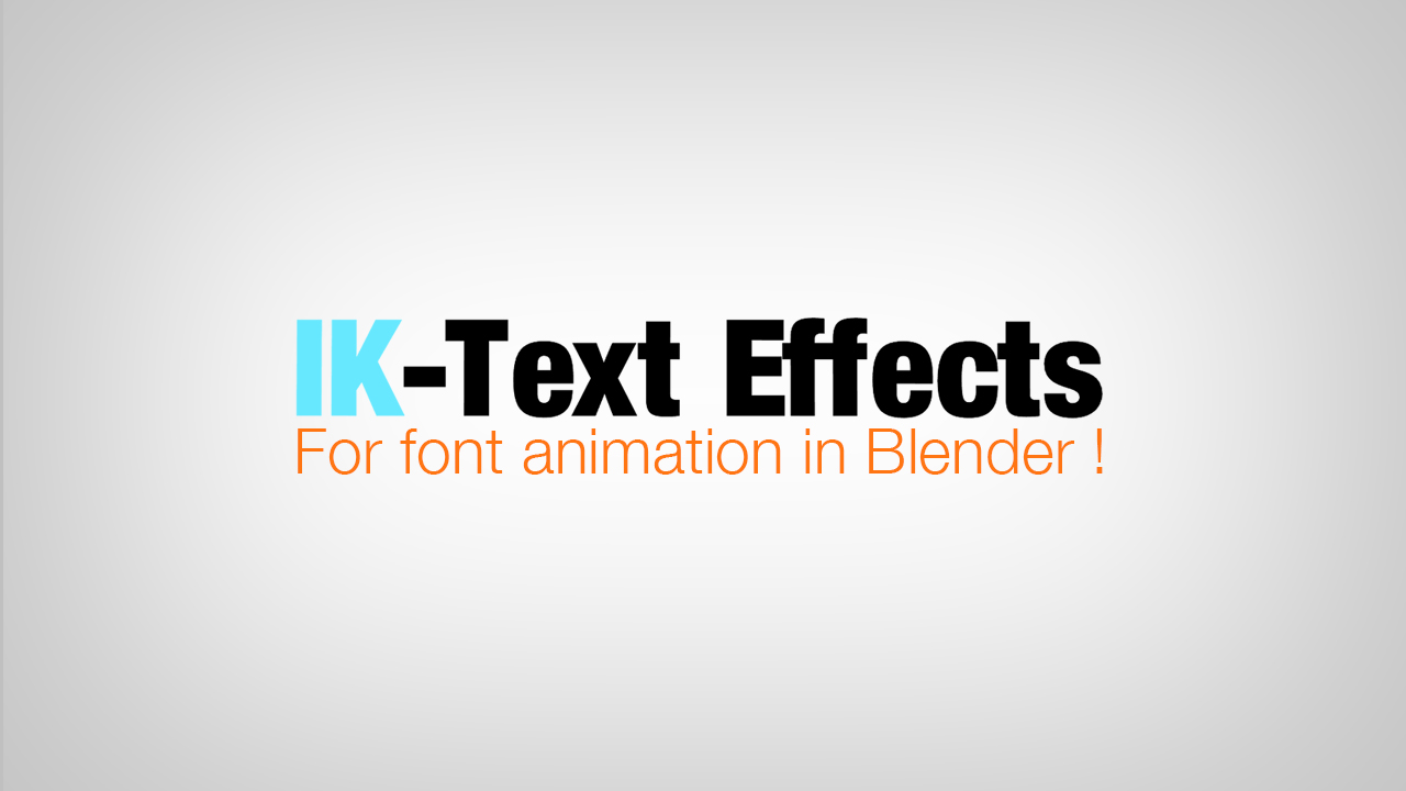 IK-Text Effects, addon font animation - Released Scripts and Themes