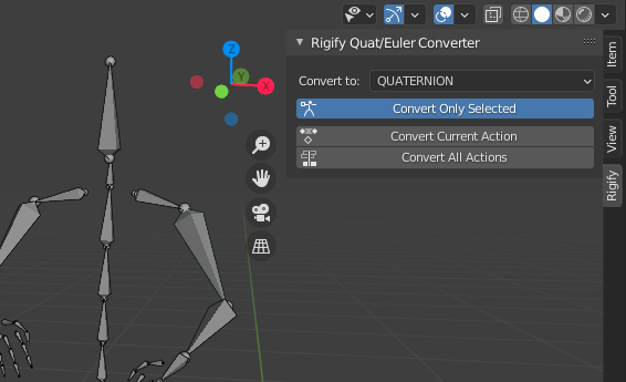 rotation mode converter