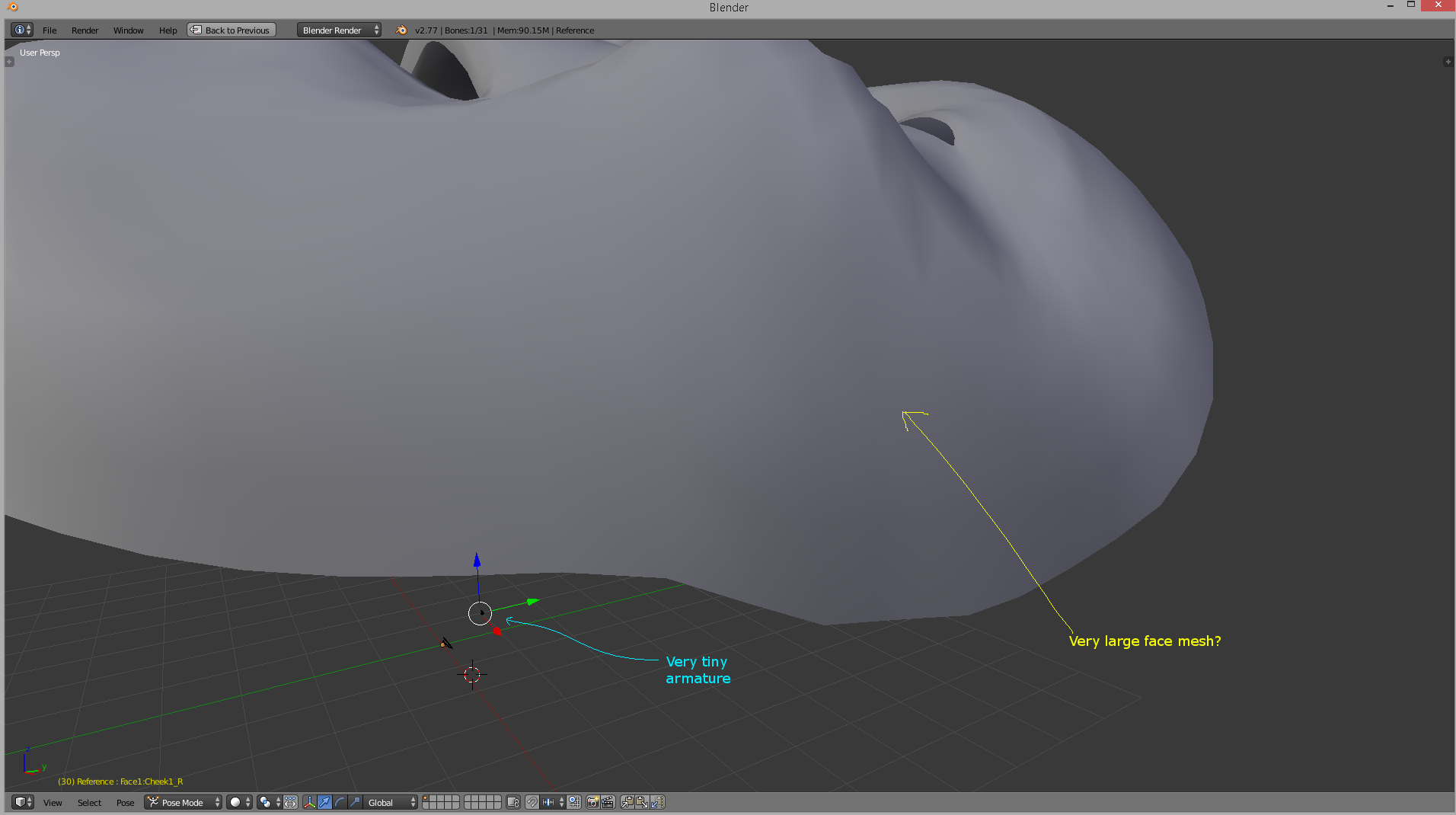 Blender not playing nice with Brekel  Can't import any  FBX