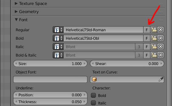 Bold and Italic Fonts? - Basics & Interface - Blender