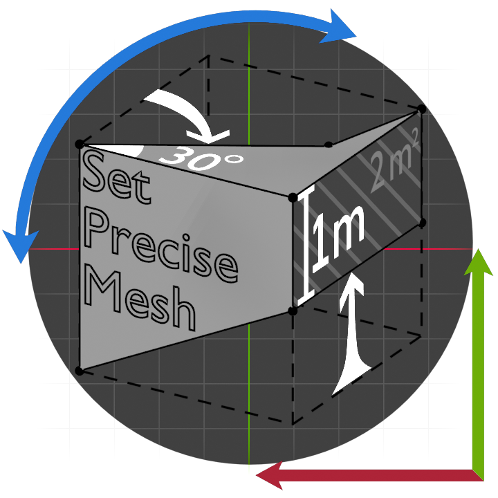 Logo Set Precise Mesh7