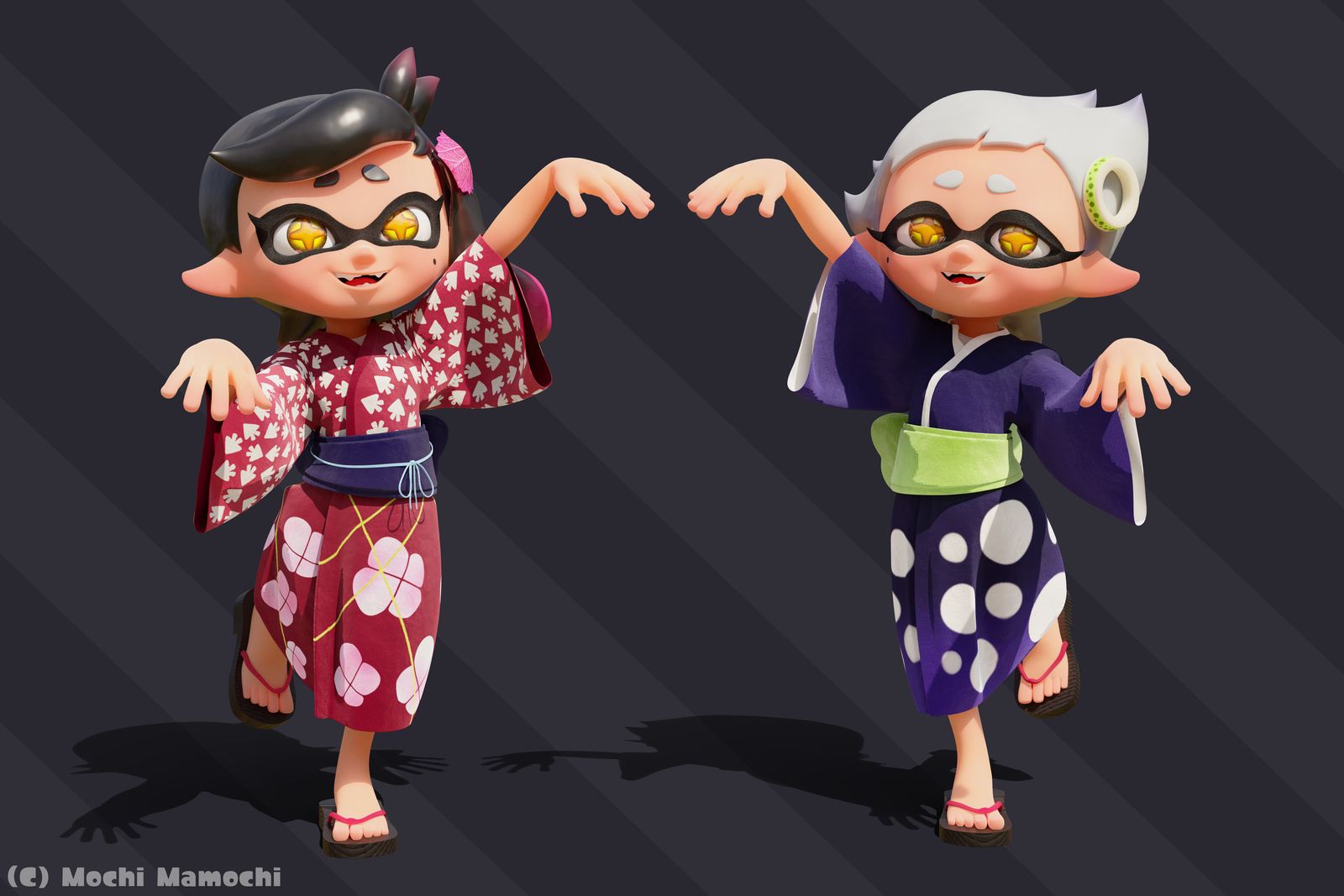 Little Callie Marie Splatoon Finished Projects