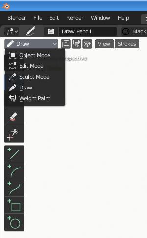 Blender_Draw-mode-option