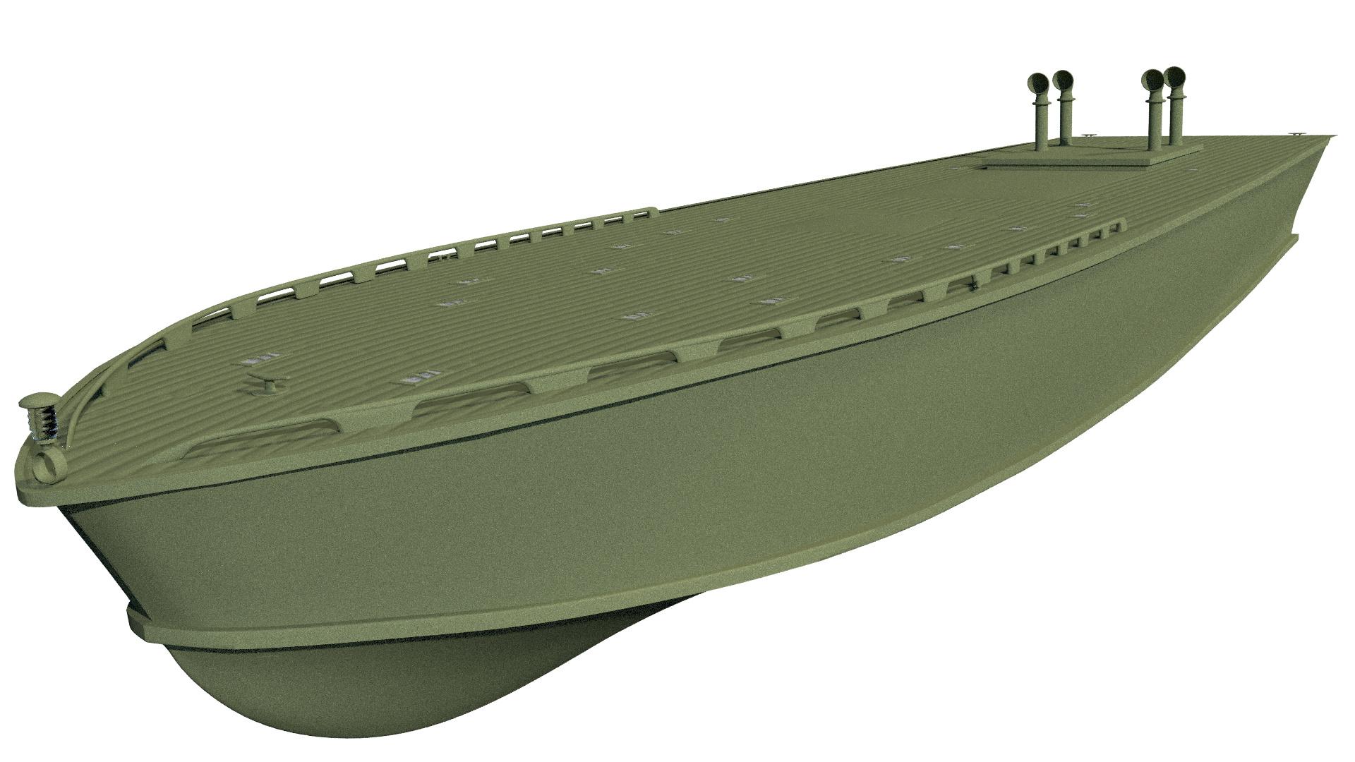 PT-109 Torpedo Patrol Boat - Works in Progress - Blender