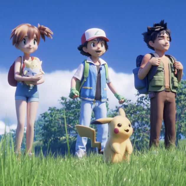 Pokemon 3D Anime