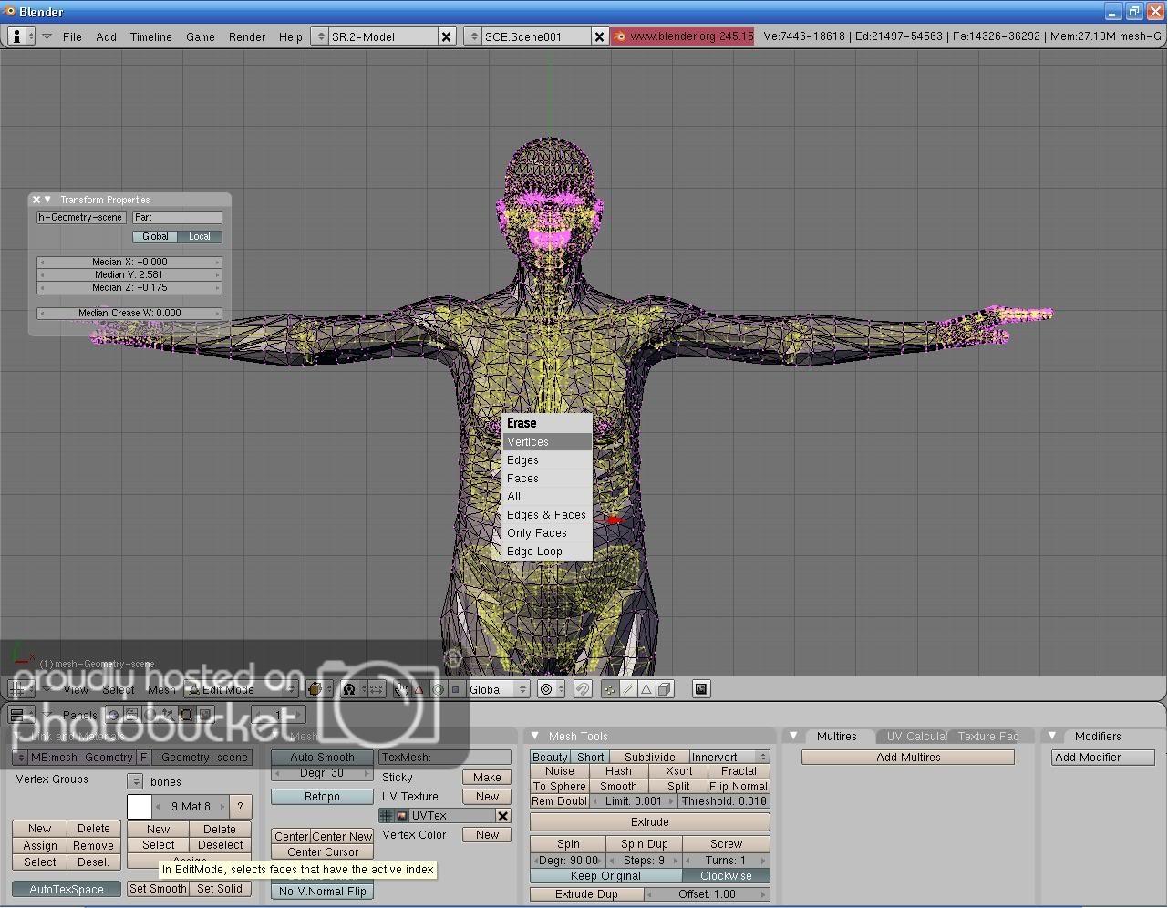 A makehuman tutorial  - Other Software - Blender Artists