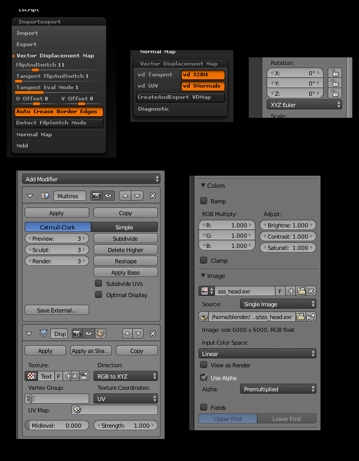 Blender Vector displacement maps? - Blender and CG Discussions
